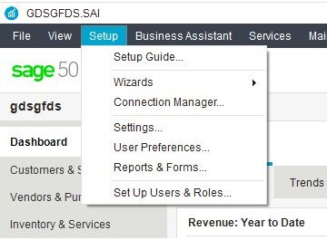 set up users roles