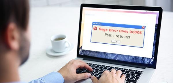 Sage error code 00005