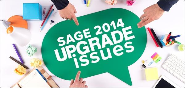 Update Sage 2013 to Sage 2014