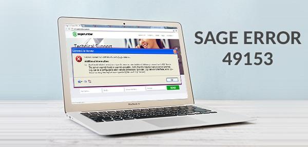 sage error 49153