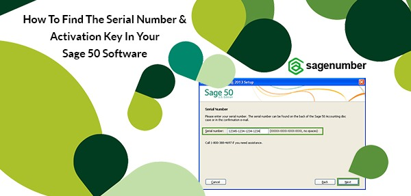 sage serial number and activation key