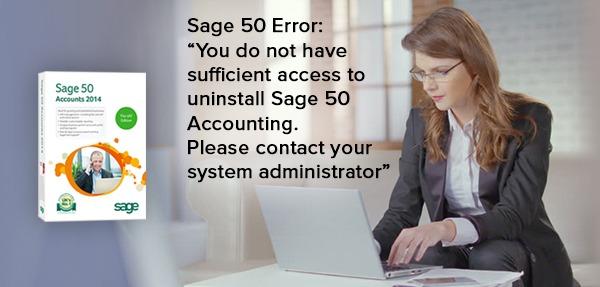 uninstall Sage 50 Accounting