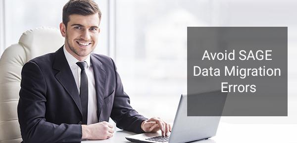 SAGE Data Migration Errors