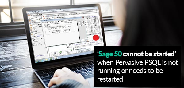 Sage 50 cannot be started