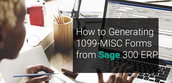 Generating 1099 MISC Forms