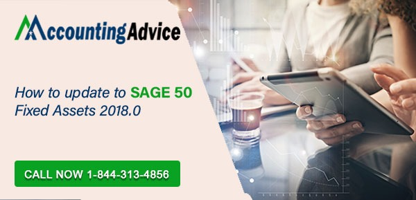Update to Sage 50 Fixed Assets 20180