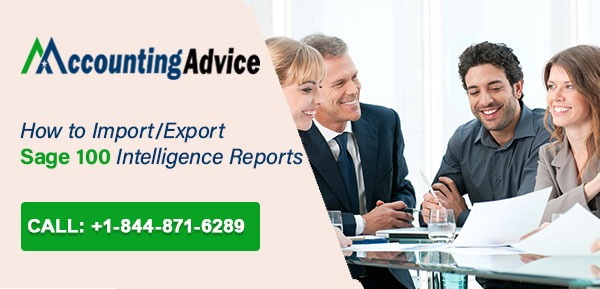 Import Export Sage 100 Intelligence Reports