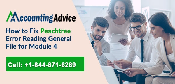 Peachtree Error Reading General File for Module