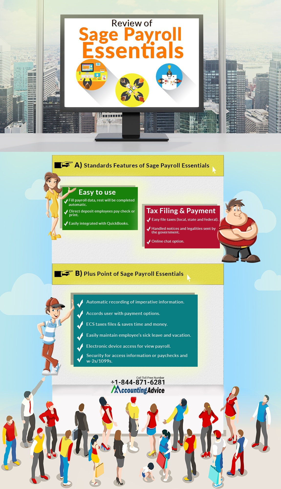 infographic-Review of Sage Payroll Essentials