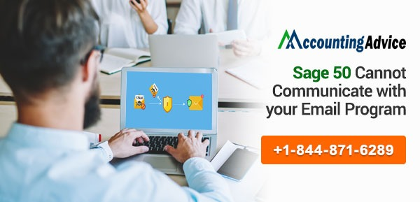 Sage 50 Cannot Communicate with Email