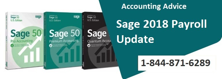 How to Update Sage 50 Payroll Tax Update 2018 - 1844 871-6289