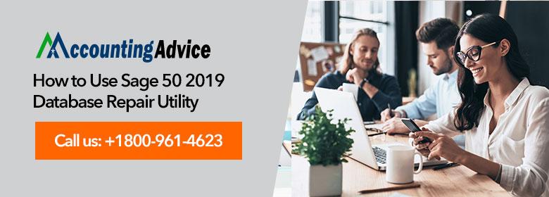 sage 50 2019 database repair utility