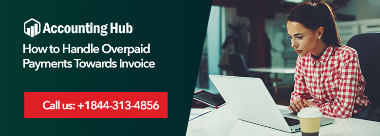 handle overpaid payments towards invoice