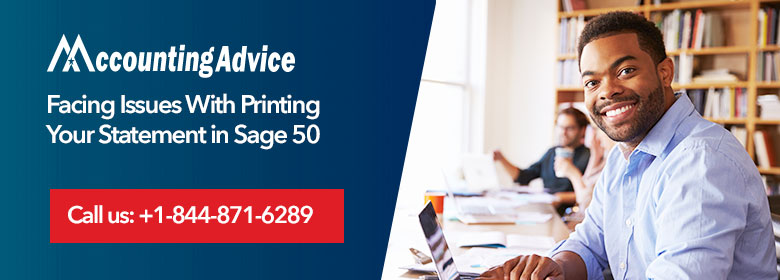 Printing Statement in Sage 50
