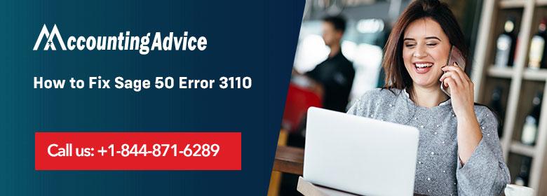 Sage 50 Error 3110