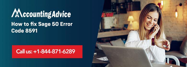 Sage 50 Error 8591