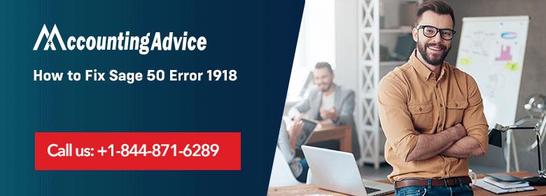 Sage 50 Error 1918