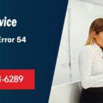 Sage 50 Error 54