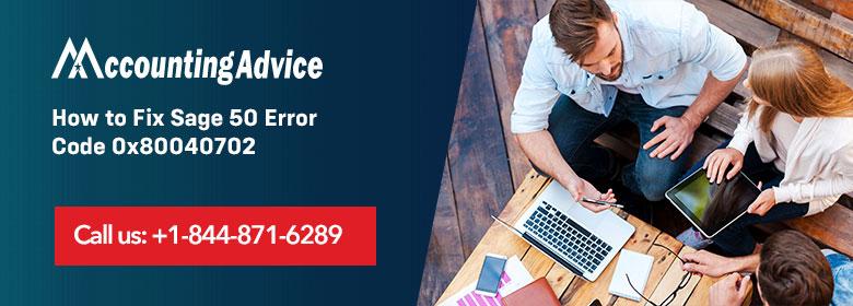 Sage 50 Error 0x80040702