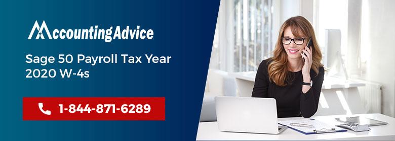 Sage Payroll Tax Year 2020 W4s