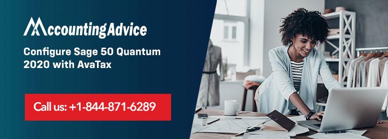 Configure Sage Quantum-2020 with AvaTax