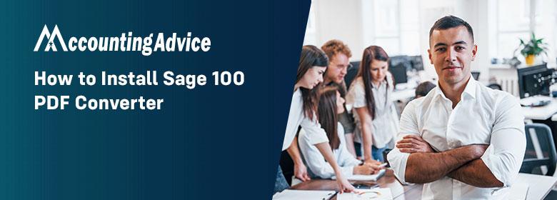 Install Sage 100 PDF Converter