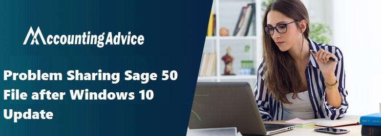 Problem Sharing Sage File after Windows 10 Update