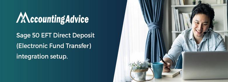 Sage 50 EFT Direct Deposit integration setup