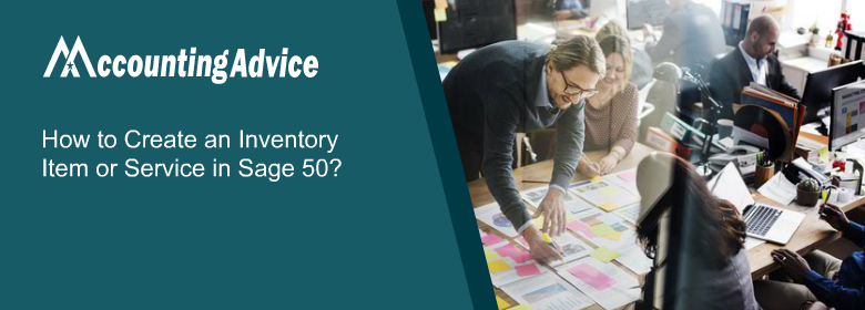 Create an Inventory or Service Item Record in Sage