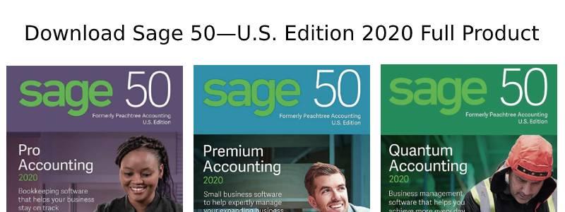 download sage 50 us 2020
