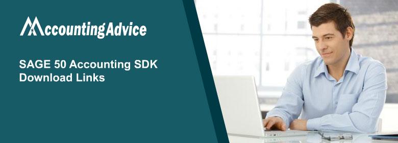 Sage 50 Accountant SDK Download links